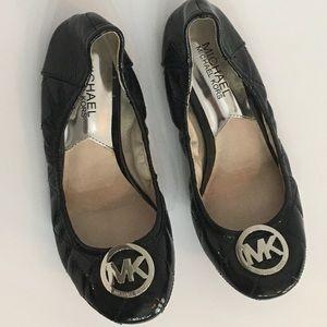 Michael Kors Patten Leather Flats NWOT